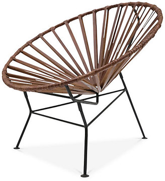 Mexa Sayulita Lounge Chair - Tobacco Leather