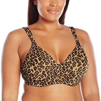 Leading Lady Women's Plus Size Underwire Padded T-Shirt Bra