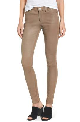 AG Jeans The Legging Super Skinny Leather Pants