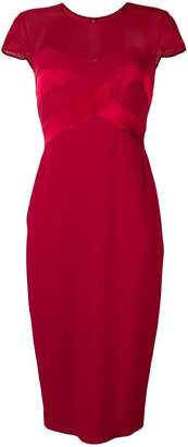 Max Mara short-sleeved midi dress