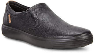 Ecco Soft 7 Leather Slip-On Sneakers