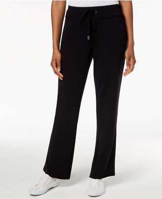 Style&Co. Style & Co French-Terry Track Pants, Created for Macy's