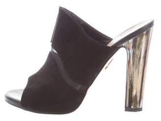 Maiyet Suede Slide Sandals