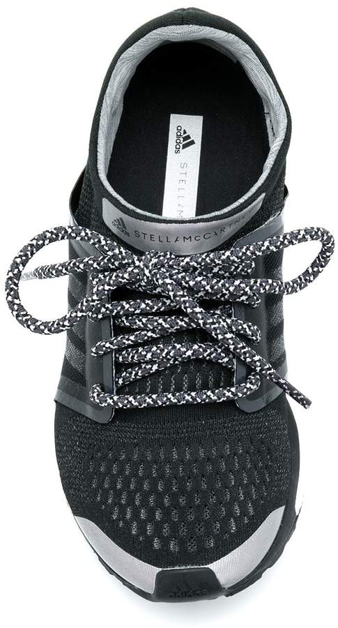 adidas by Stella McCartney panelled perforated sneakers