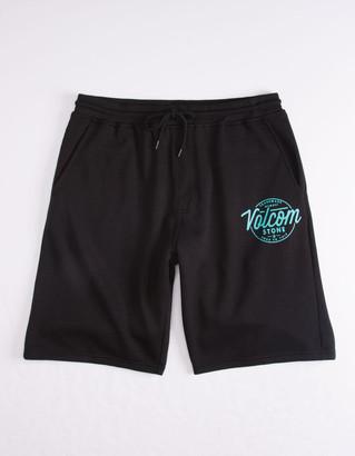 Volcom Rainmaker Black Mens Sweat Shorts