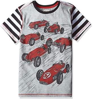 Hatley (ハットレイ ボーイズ Tシャツ TS5CARS391 グレー 6Y(119cm) 日本120cm