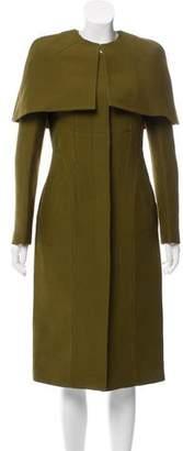 Gucci Capelet-Accented Long Coat