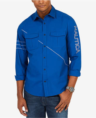 Nautica Men's Coastal Sailing Shirt