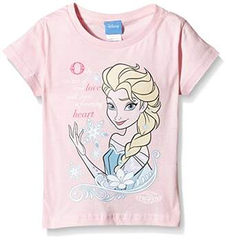 Disney Girl's Act of True Love Short Sleeve Crew Neck T-Shirt,(Manufacturer Size:XX-Small)