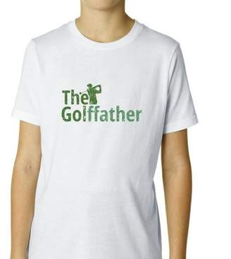 Hollywood Thread The Golffather - Golf Father God Father - Funny Golfing Boy's Cotton Youth T-Shirt