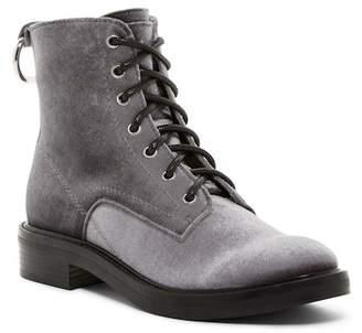 Dolce Vita Bardot Lace-Up Velvet Boot