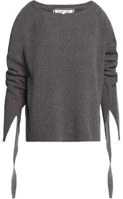 Helmut Lang Ribbed Wool And Cashmere-blend Sweater