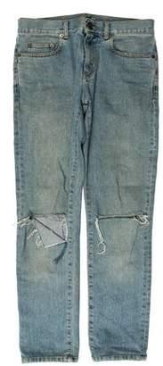Saint Laurent D02 Blowout Jeans