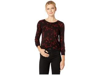 MICHAEL Michael Kors Eden Rose Crew Long Sleeve Sweater