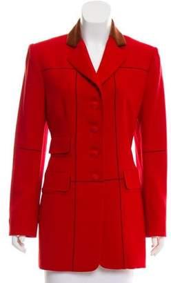 Hermes Structured Wool Coat