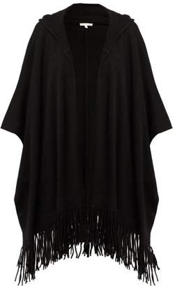 Skin - Gabriella Hooded Cashmere Poncho - Womens - Black