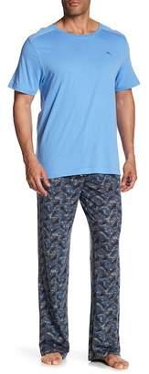 Tommy Bahama Palms In The Wind Pajama 2-Piece Set