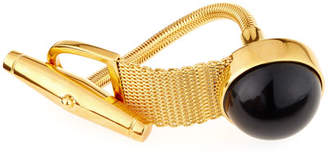 Balenciaga Chain Toggle Bracelet, Black/Golden