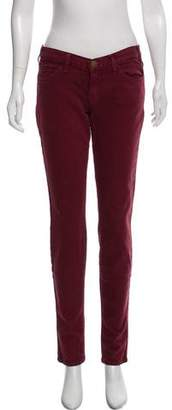 Current/Elliott Hi-rise Straight-leg Jeans