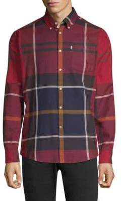Barbour Dunoon Plaid-Print Shirt