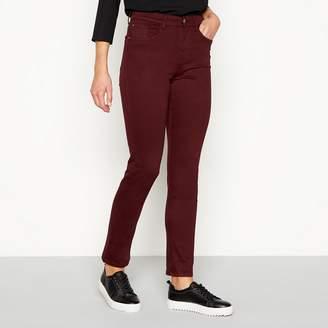 J by Jasper Conran Burgundy 'Twill' Slim Fit Jeans