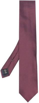 Ermenegildo Zegna micro checked tie