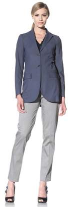 Luciano Barbera Women's Two-Button Wool Jacket