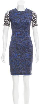 Yigal Azrouel Abstract Printed Mini Dress