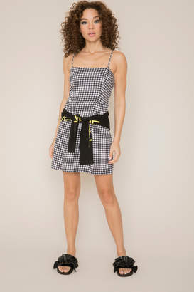 KENDALL + KYLIE Ardene Kendall & Kylie Gingham Cami Mini Dress