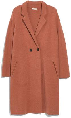 Madewell Double Breasted Sweater Coat