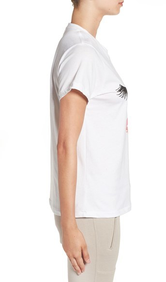 Women's Sincerely Jules 'Lips & Lashes' Graphic Tee 5