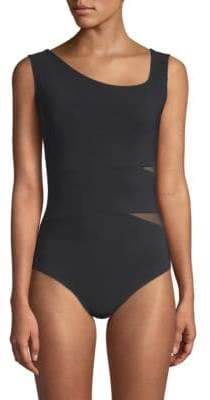 Chiara Boni One-Piece Cut-Out Back Swimsuit