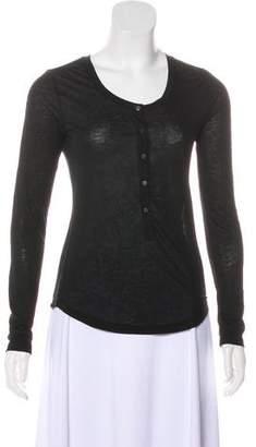 J Brand Long Sleeve Jersey Top