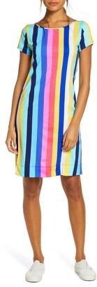 Lilly Pulitzer Marlowe Vertical Stripe T-Shirt Dress