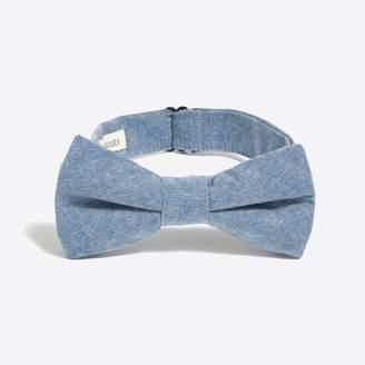 J.Crew Factory Boys' chambray bow tie