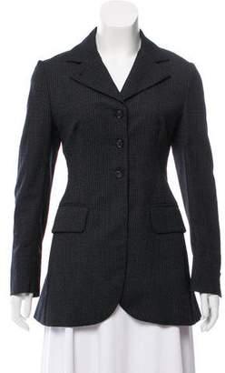 Prada Striped Wool Blazer