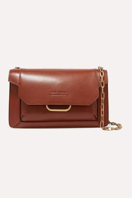 Isabel Marant Skamy Leather Shoulder Bag - Brown