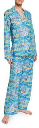 Derek Rose Ledbury Impressionist Classic Pajama Set