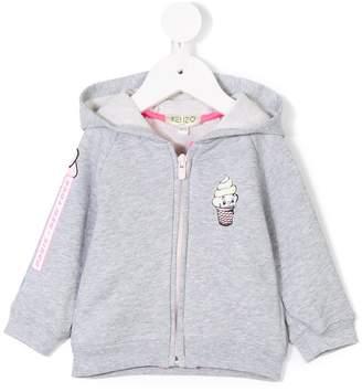 Kenzo novelty hoodie