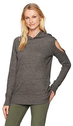 Wilt Women's Cold Shoulder Hoodie Tunic