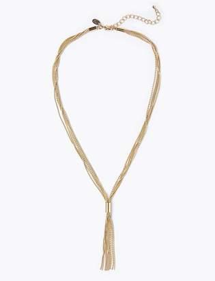 866ae29285 Gold Tassel Necklace - ShopStyle UK