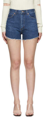 Citizens of Humanity Blue Kristen Shorts