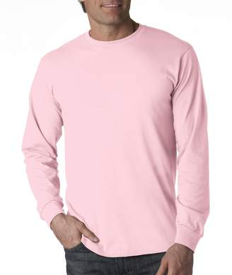 Fruit of the Loom Adult Heavy Cotton HD Long-Sleeve T-Shirt (2X-Large)