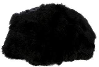 Adrienne Landau Fur Pill Box Hat w/ Tags
