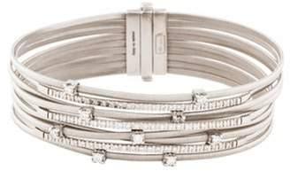 Marco Bicego 18K Diamond Nine-Strand Goa Bracelet white 18K Diamond Nine-Strand Goa Bracelet