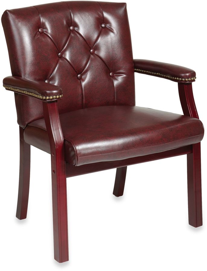 Bed Bath & BeyondTraditional Visitors Chair with Padded Arms