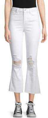 L'Agence Sophia High-Rise Cropped Jeans