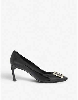 Roger Vivier Belle Vivier patent leather courts