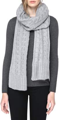 Soia & Kyo Cable Knit Scarf
