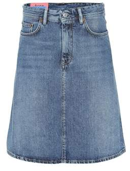 Acne Studios Blå Konst Shadow denim skirt